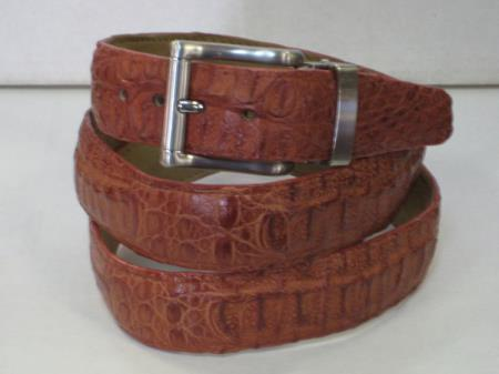 Mens Genuine Authentic Cognac