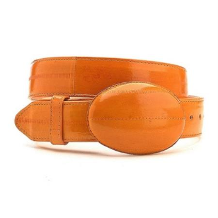 Genuine Real Cognac Eelskin