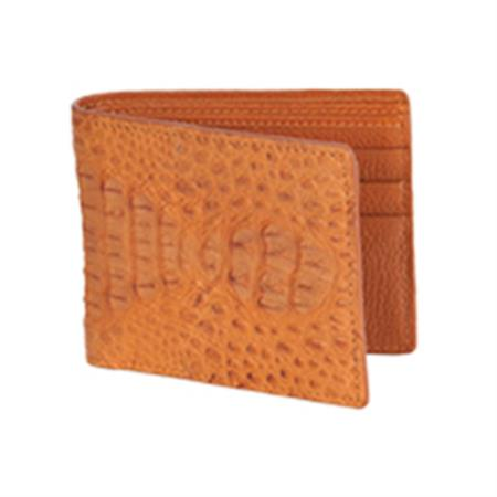 West Boots Wallet-Cognac Genuine