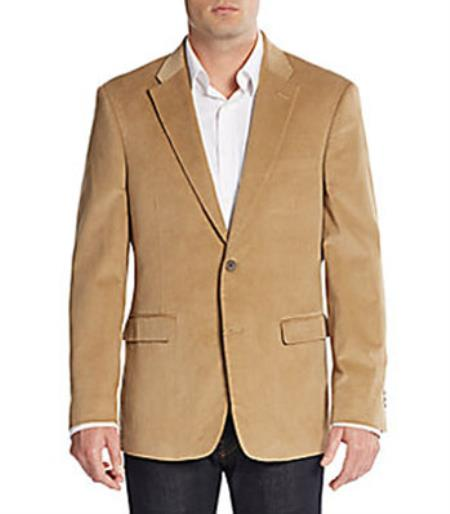 Fit Mens Corduroy Blazer