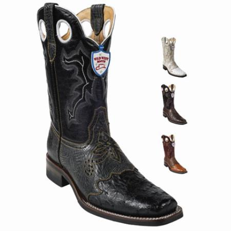 Brown Classic fit Comfort and Style Wild West - Dress Cowboy Boot