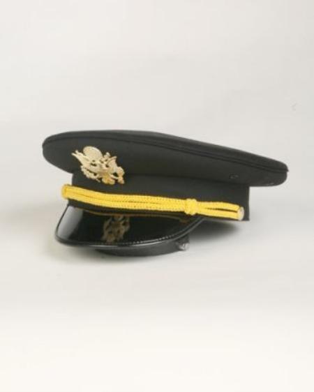 SKU#US4333 Mens Black Cadet Hat