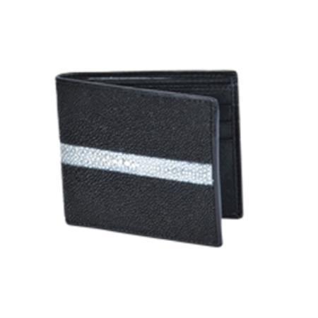 West Boots Wallet-Black Genuine