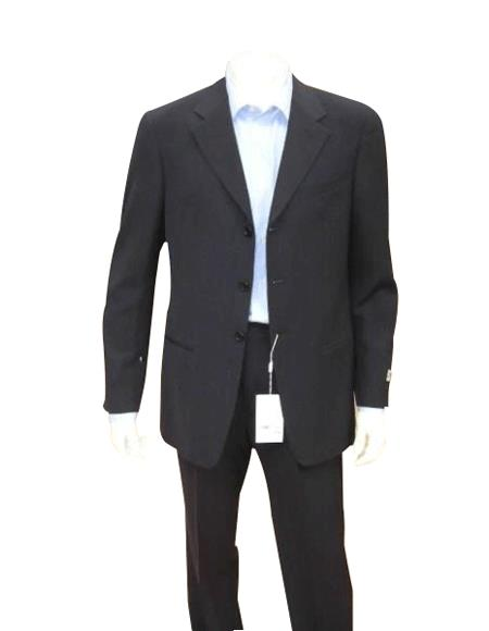 Mens Dark Navy Blue Suit For Men Mens Single Breasted Discount Cheap Priced Business Suits Clearance Sale For Me