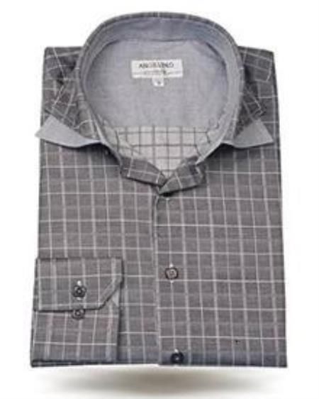 Cotton Spread Double Collar