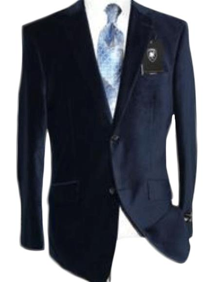 Velvet Navy Blue Sport Coat Kids Sizes Cheap Priced Unique Fashion Designer Men's Dress blazers Sale By Giorgio Cosani Men's & Boys Sizes