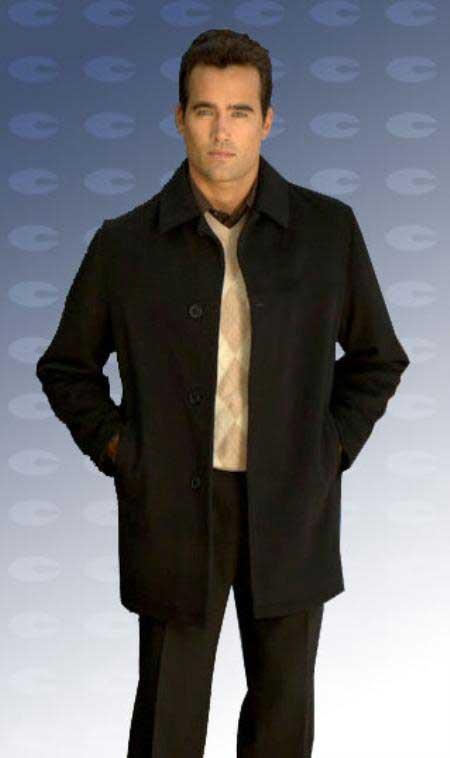Men's Dress Coat 34 model with vent wool blen Online Discount Fashion Sale