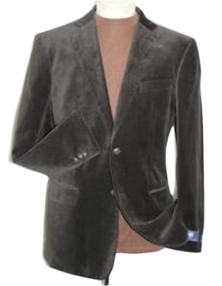 Velvet Blazer - Mens Velvet Jacket Brown Velvet Cheap Priced Unique Fashion Designer Men's Dress Sale Jacket