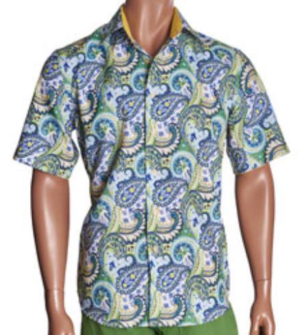 Sleeve Mens Dress Shirt