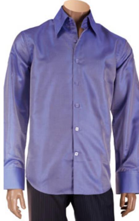 Microfiber Mens Dress Shirt