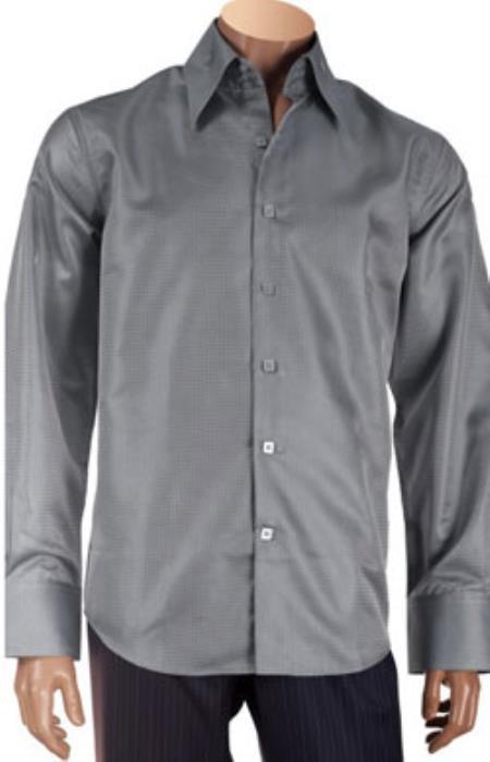 Collar Mens Dress Shirt