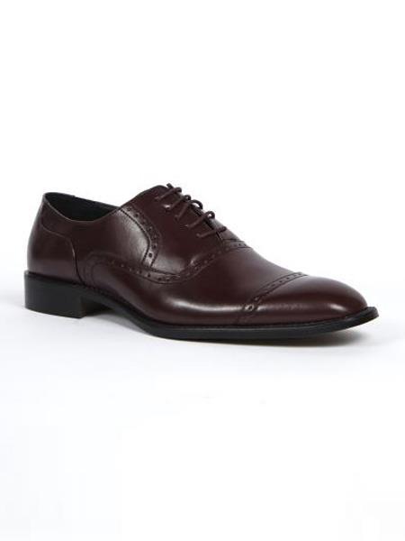 Dress Shoes Burgandy