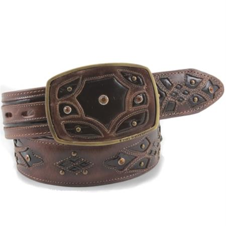 Exotic Brown Belt Genuine