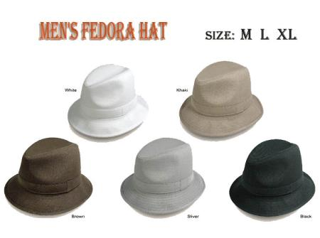 57ec6a2eae35d SKU G02 New Men s Fedora Trilby Hat