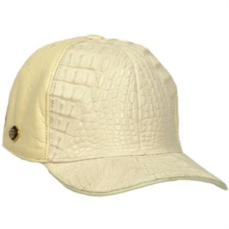 16715bfd6751c8 World Best Genuine Ostrich & Alligator Skin ~ Hueso Mens Baseball Western  Hats