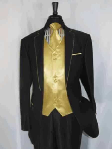Mens Suit Two Toned