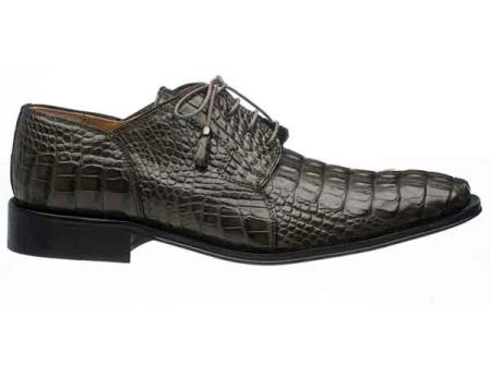Gray Mens Elephant Vamp