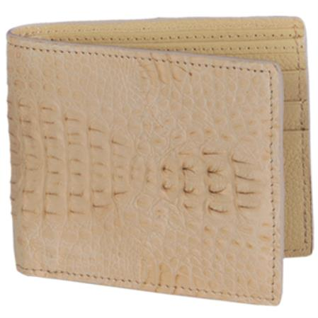 Carteras caiman ~ World Best Alligator ~ Gator Skin Lomo Mens Wallet – Arena