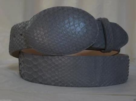 Gray Python Snake Western