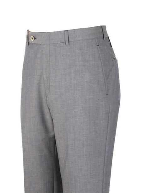 american usa made gray super 110's wool harwick clothing dress pants manufacturers in america