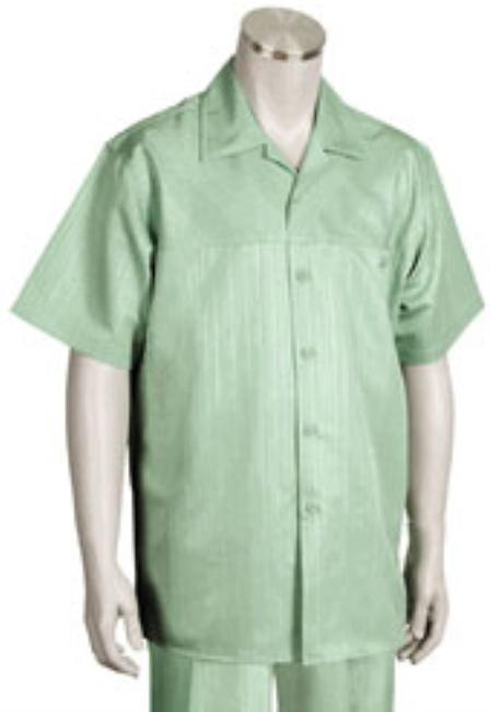 Buy KA1188 Leisure Walking Suit Mens Short Sleeve 2piece Walking Suit