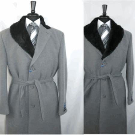 OverCoat Wool Blend Grey
