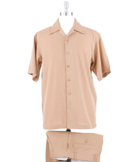 Microfiber Comfortable Fit Khaki