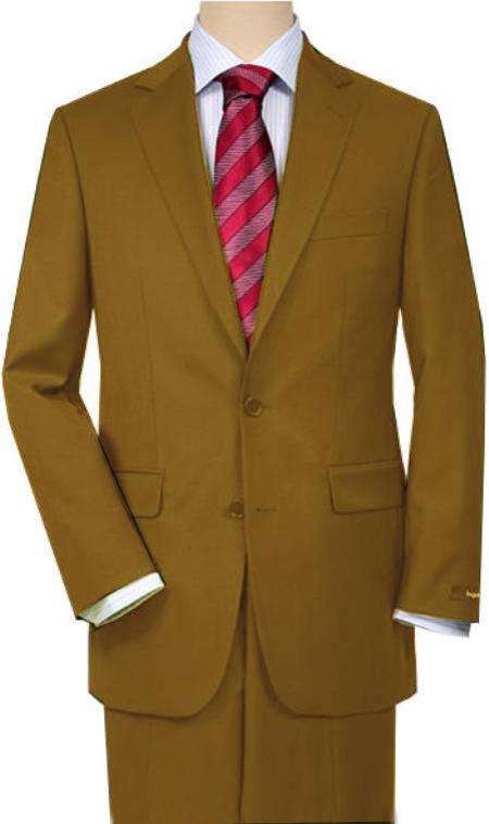 SKU#AHE2 Camel ~ Khaki Quality Total Comfort Suit Separate Any Size Jacket & Any Size Pants