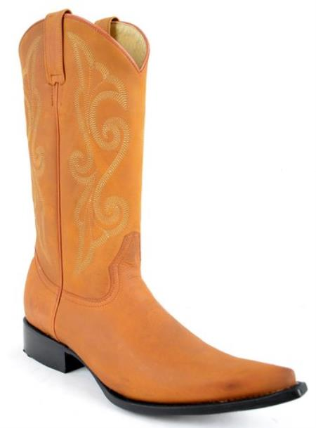 Western Leather Boot -