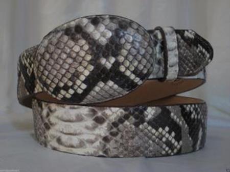 Natural Python Snake Western