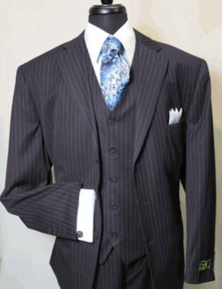 Navy Blue Stripe ~