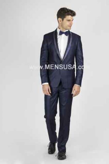 Navy Blue Tux ~