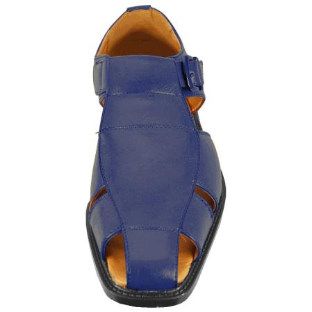 Mens Navy Sandal