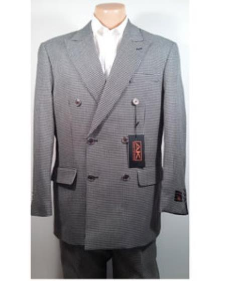 Wool Double Breasted Suit