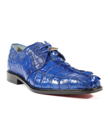 ROYAL Mens Colombo Ocean Blue Oxfords Belvedere Shoes