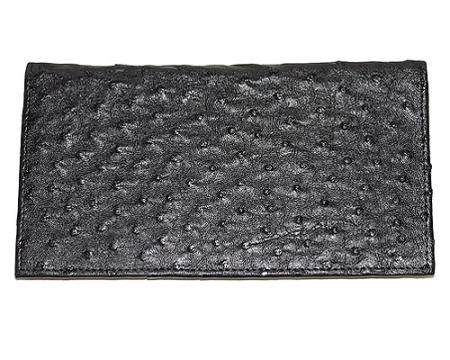 Buy AQQ9 Wallet ~ billetera ~ CARTERAS Large Ostrich Wallet Black