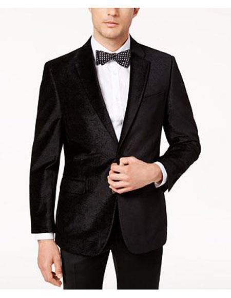 Men's summer business suits with shorts pants set (sport coat Looking) Black