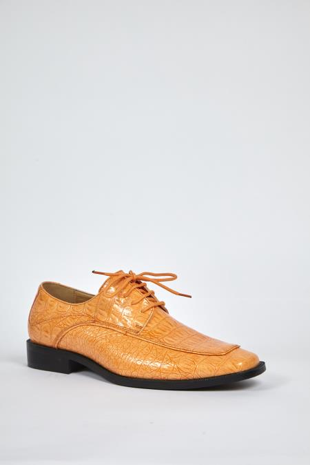 Peach Dress Shoes