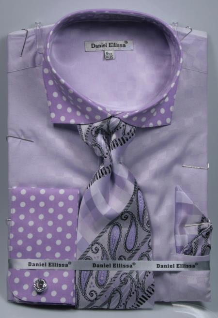 Polka Dot Dress Shirts