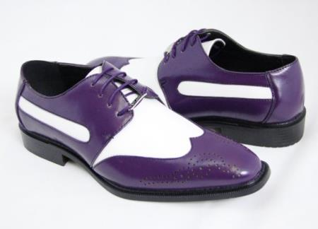 SKU#KA6863 Mens Wing Tip Spectators
