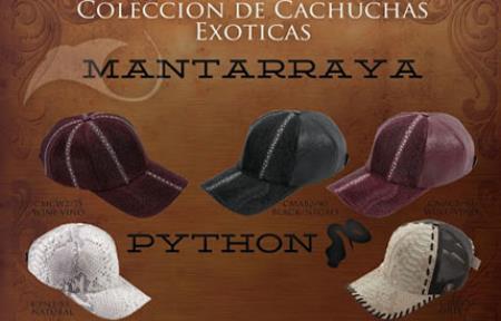 Hats Genuine Stingray/python ~