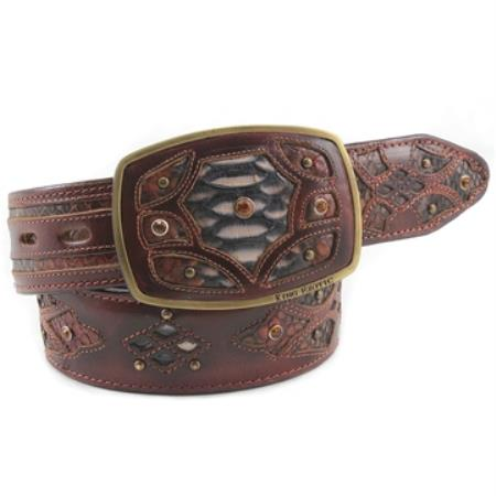 Exotic Rustic Belt Genuine