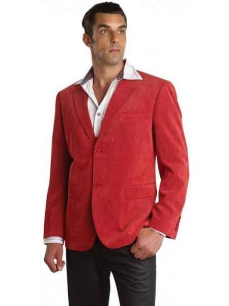 Red Patroncito Mens Corduroy