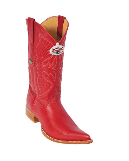 Buy T11F Los Altos Red Deer XXX-Toe Cowboy Boots