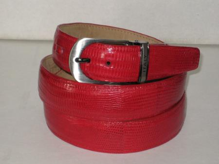 Genuine Authentic Red Lizard