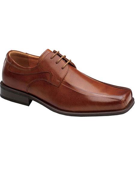 Zota Men's Tan Color Shoe Unique Dress Unique Zota Men's Dress Shoe Brand Men's Leather Classic Lace Up Rust Authentic