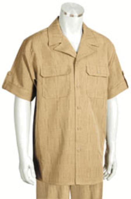Buy KA5599 Leisure Walking Suit Mens Short Sleeve 2piece Walking Suit