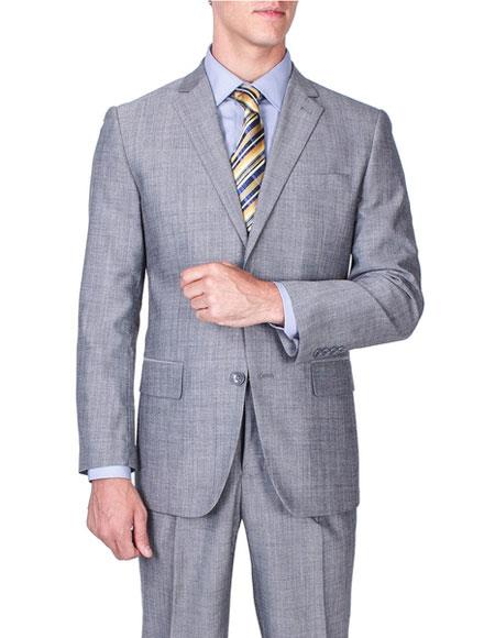 Mens Sharkskin Inexpensive Affordable Discounted Single Breasted Authentic Giorgio Fiorelli Brand suits