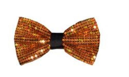 Shiny Polyester Bowtie Sequin