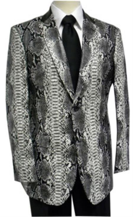 Shiny Snake Print Fashion